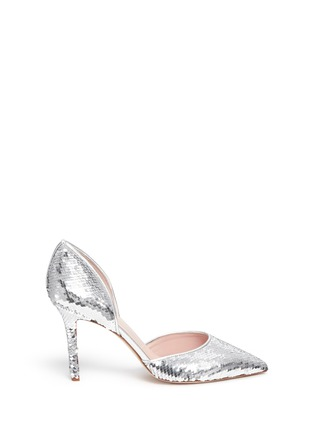 Main View - Click To Enlarge - KATE SPADE - 'Portia' sequin scale d'Orsay pumps
