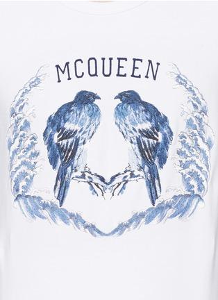 Detail View - Click To Enlarge - Alexander McQueen - Bird embroidery sweatshirt