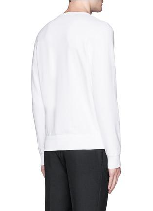Back View - Click To Enlarge - Alexander McQueen - Bird embroidery sweatshirt