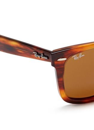 Detail View - Click To Enlarge - Ray-Ban - 'Original Wayfarer' tortoiseshell acetate sunglasses