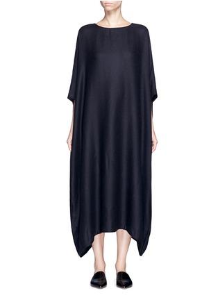 Main View - Click To Enlarge - The Row - 'Nikita' textured cashmere-silk kaftan dress