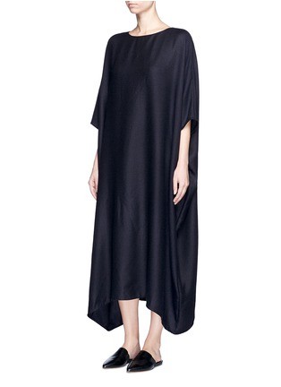 Figure View - Click To Enlarge - The Row - 'Nikita' textured cashmere-silk kaftan dress