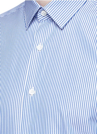 Detail View - Click To Enlarge - Canali - Stripe cotton shirt