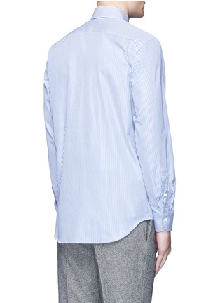 Back View - Click To Enlarge - Canali - Stripe cotton shirt