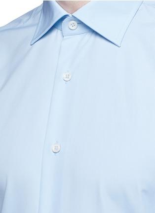 Detail View - Click To Enlarge - Canali - Cotton poplin dress shirt