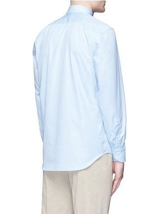 Back View - Click To Enlarge - Canali - Cotton poplin dress shirt