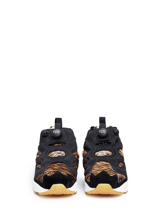 Front View - Click To Enlarge - Reebok - 'InstaPump Fury Jungle Book' slip-on sneakers