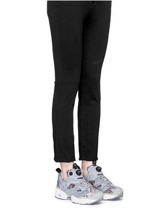 Figure View - Click To Enlarge - Reebok - x Disney 'InstaPump Fury JB' snakeskin embossed sneakers