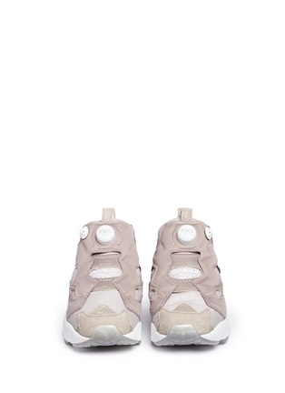 Front View - Click To Enlarge - Reebok - 'Instapump Fury OG' slip-on sneakers