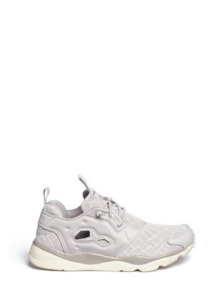 Main View - Click To Enlarge - Reebok - 'Furylite TM' tech mesh sneakers