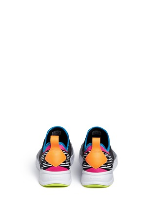 Back View - Click To Enlarge - Reebok - 'Furylite Slip-on Lux' colourblock sneakers