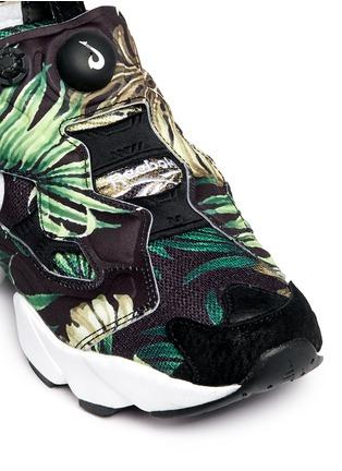 Detail View - Click To Enlarge - Reebok - 'Instapump Fury JG' leaf print sneakers
