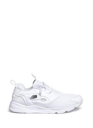Main View - Click To Enlarge - Reebok - 'FuryLite' mesh sneakers