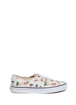 Main View - Click To Enlarge - Vans - 'Digi Hula Authentic' doll print canvas sneakers