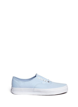 Main View - Click To Enlarge - Vans - 'Studs Authentic Gore' canvas slip-ons