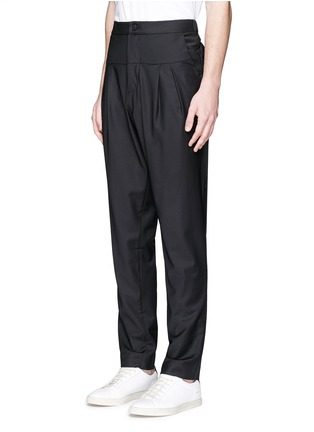 Front View - Click To Enlarge - FFIXXED STUDIOS - 'Double Familiarity' panel pants