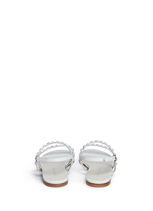 Back View - Click To Enlarge - Stuart Weitzman - 'Trail Mix' jewelled leather sandals