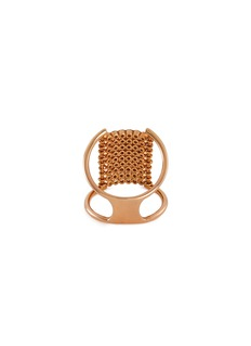 Yannis Sergakis Adornments 'Charnières' diamond 18k gold 9 row ring