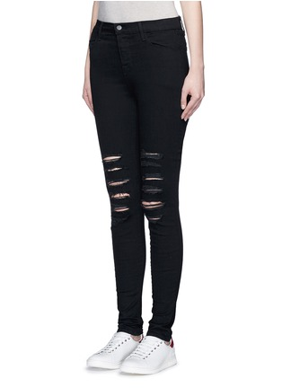 Front View - Click To Enlarge - J Brand - 'Photo Ready Maria' skinny denim pants