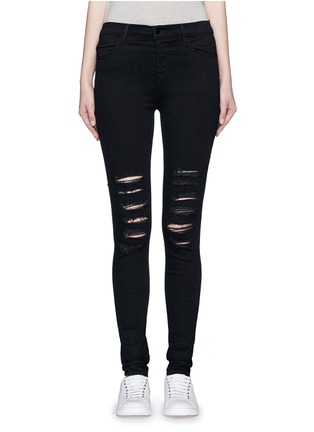 Main View - Click To Enlarge - J Brand - 'Photo Ready Maria' skinny denim pants