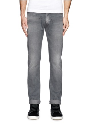 Main View - Click To Enlarge - 3x1 - 'M3' selvedge slim fit jeans
