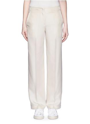 Main View - Click To Enlarge - Helmut Lang - Silk carpenter pants