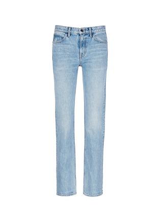 Main View - Click To Enlarge - Helmut Lang - Light worn boyfriend jeans