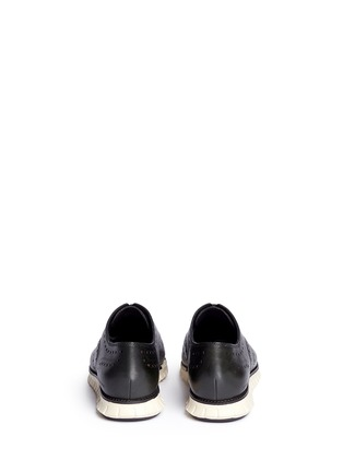 Back View - Click To Enlarge - Cole Haan - 'ZeroGrand' wingtip brogue leather Oxfords