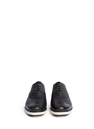 Front View - Click To Enlarge - Cole Haan - 'ZeroGrand' wingtip brogue leather Oxfords