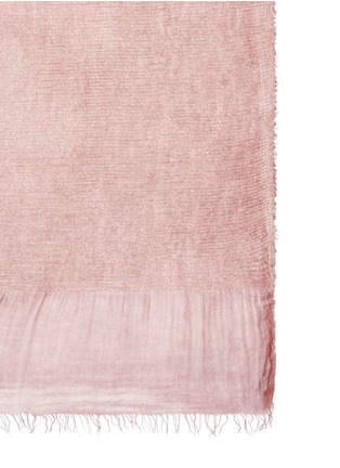 Detail View - Click To Enlarge - Faliero Sarti - 'Velvet' modal-silk scarf