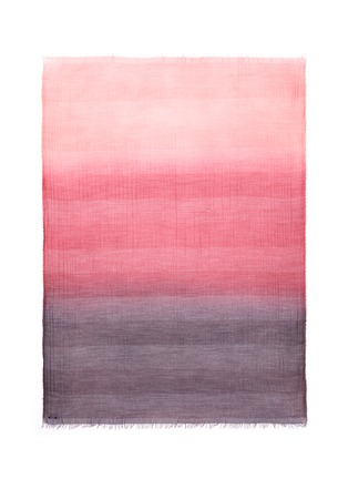 Main View - Click To Enlarge - FALIERO SARTI - 'Tea' ombré virgin wool blend scarf
