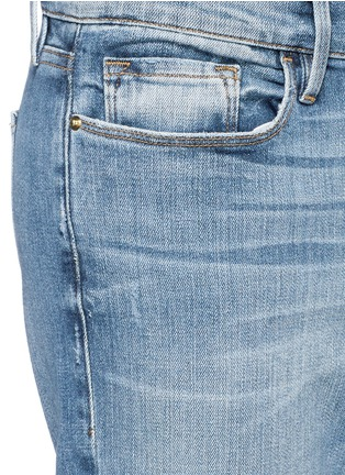 Detail View - Click To Enlarge - FRAME DENIM - 'Le Garçon' boyfriend jeans