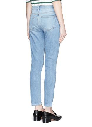 Back View - Click To Enlarge - Frame Denim - 'Le Garçon' boyfriend jeans