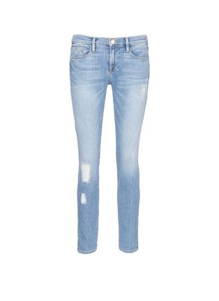 Main View - Click To Enlarge - FRAME DENIM - 'Le Garçon' boyfriend jeans