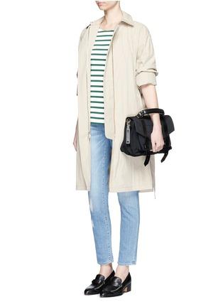 Figure View - Click To Enlarge - FRAME DENIM - 'Le Garçon' boyfriend jeans
