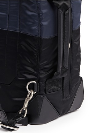 Detail View - Click To Enlarge - Alexander Wang  - 'Wallie' padded bomber nylon backpack
