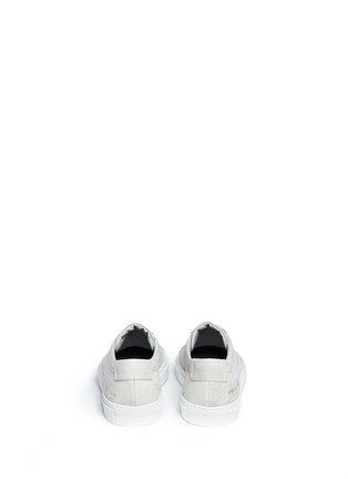 Back View - Click To Enlarge - Common Projects - 'Original Achilles' nubuck leather sneakers