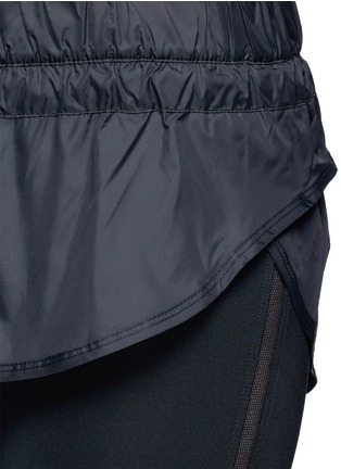 Detail View - Click To Enlarge - Adidas By Stella Mccartney - 'The Short Tight' layered leggings