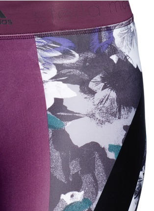 Detail View - Click To Enlarge - Adidas By Stella Mccartney - 'Techfit' floral print performance leggings