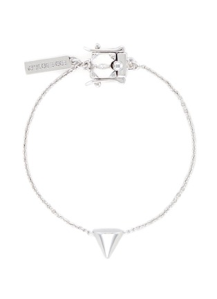 Main View - Click To Enlarge - Eddie Borgo - Metal cone charm bracelet