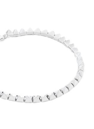 Detail View - Click To Enlarge - Eddie Borgo - Pyramid stud tennis bracelet