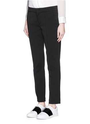 Front View - Click To Enlarge - Vince - Pintuck centre seam stretch pants