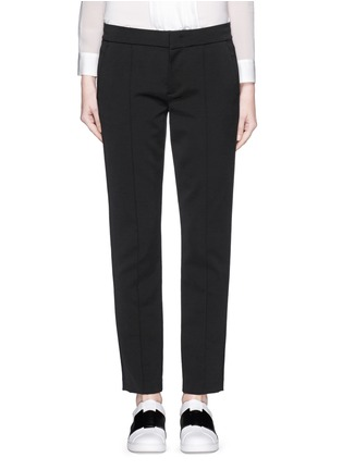 Main View - Click To Enlarge - Vince - Pintuck centre seam stretch pants