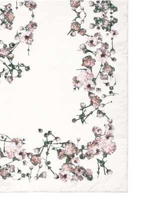 Detail View - Click To Enlarge - Givenchy Beauty - Baby's breath floral print silk scarf