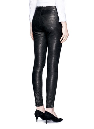 Back View - Click To Enlarge - J Brand - 'Super Skinny' stretch leather pants