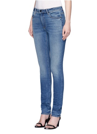 Front View - Click To Enlarge - T By Alexander Wang - 'WANG 001' slim fit jeans