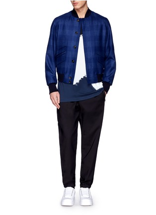 Figure View - Click To Enlarge - 3.1 Phillip Lim - Colourblock paint print cotton T-shirt