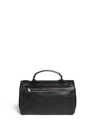 Back View - Click To Enlarge - Proenza Schouler - PS1' medium fringe leather satchel