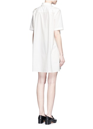 Back View - Click To Enlarge - Equipment - 'Major' cotton poplin utility dress