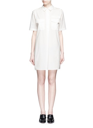 Main View - Click To Enlarge - Equipment - 'Major' cotton poplin utility dress